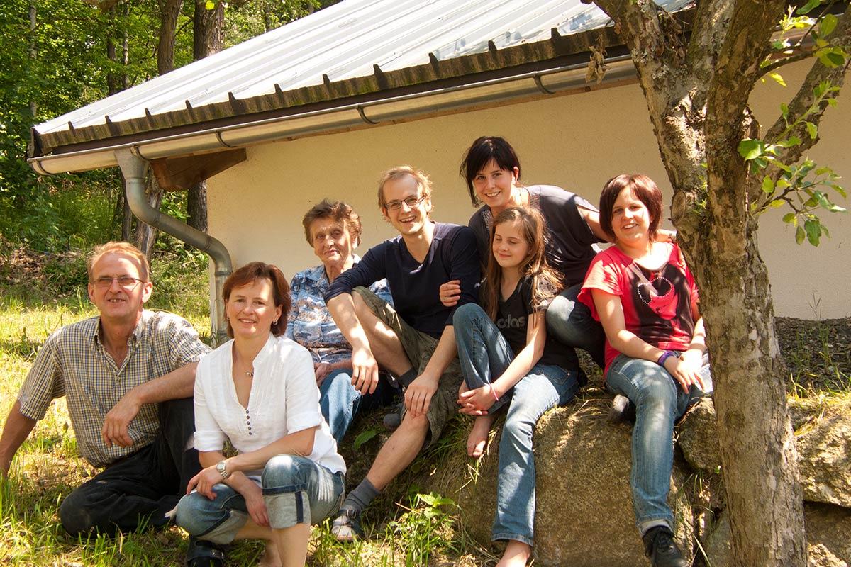 Die Familie Prinz, Prinzenhof Kottingnondorf, Groß Gerungs, Waldviertel