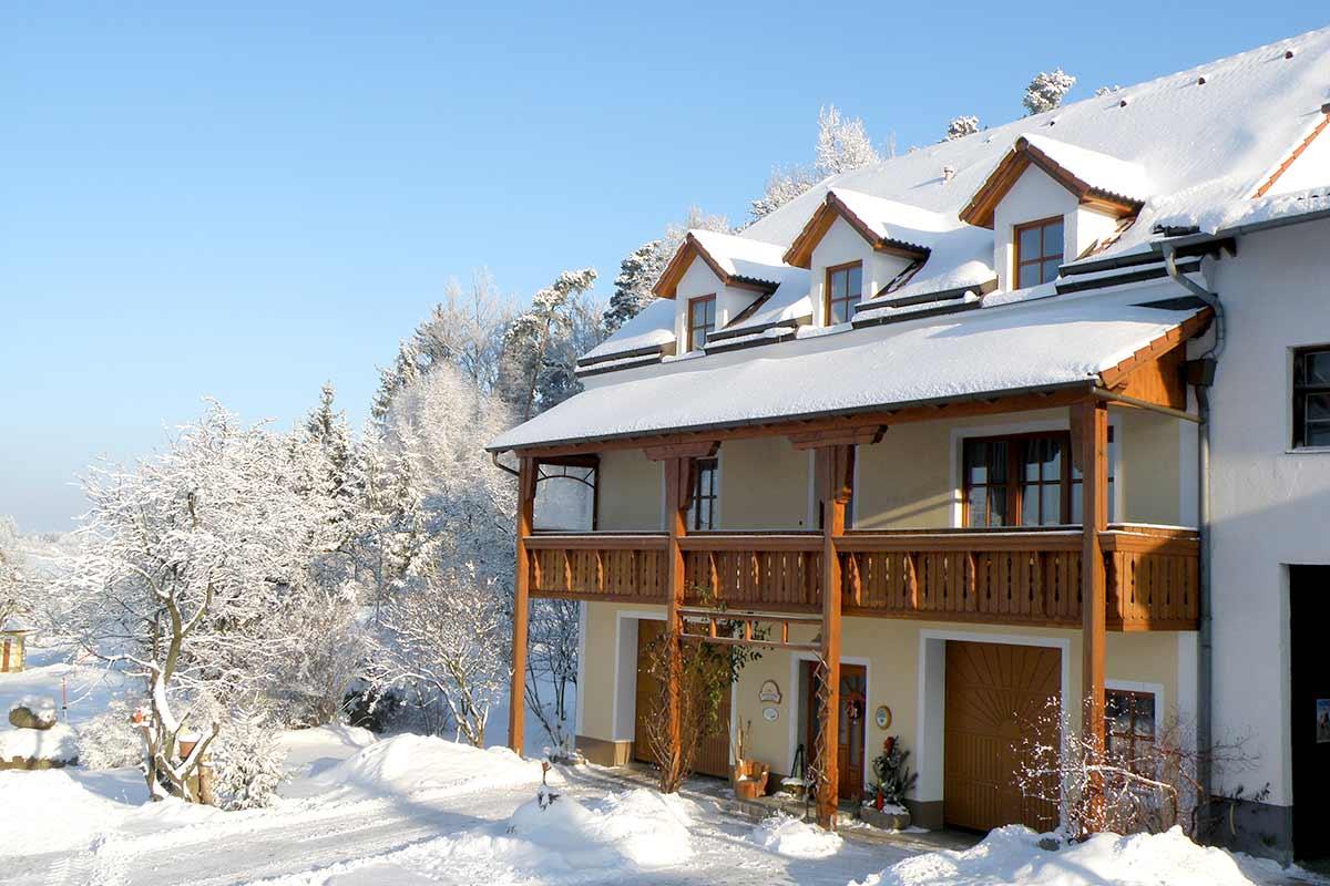 Der Prinzenhof im Winter