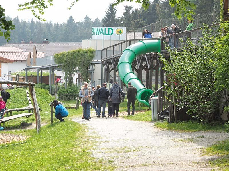 BAERENWALD Arbesbach, Spielplatz (C)VIER-PFOTEN Gerlinde Mairhofer