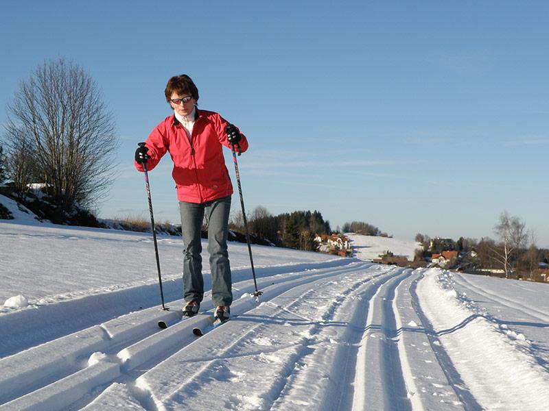 Langlaufen in der AktivWelt Freiwald